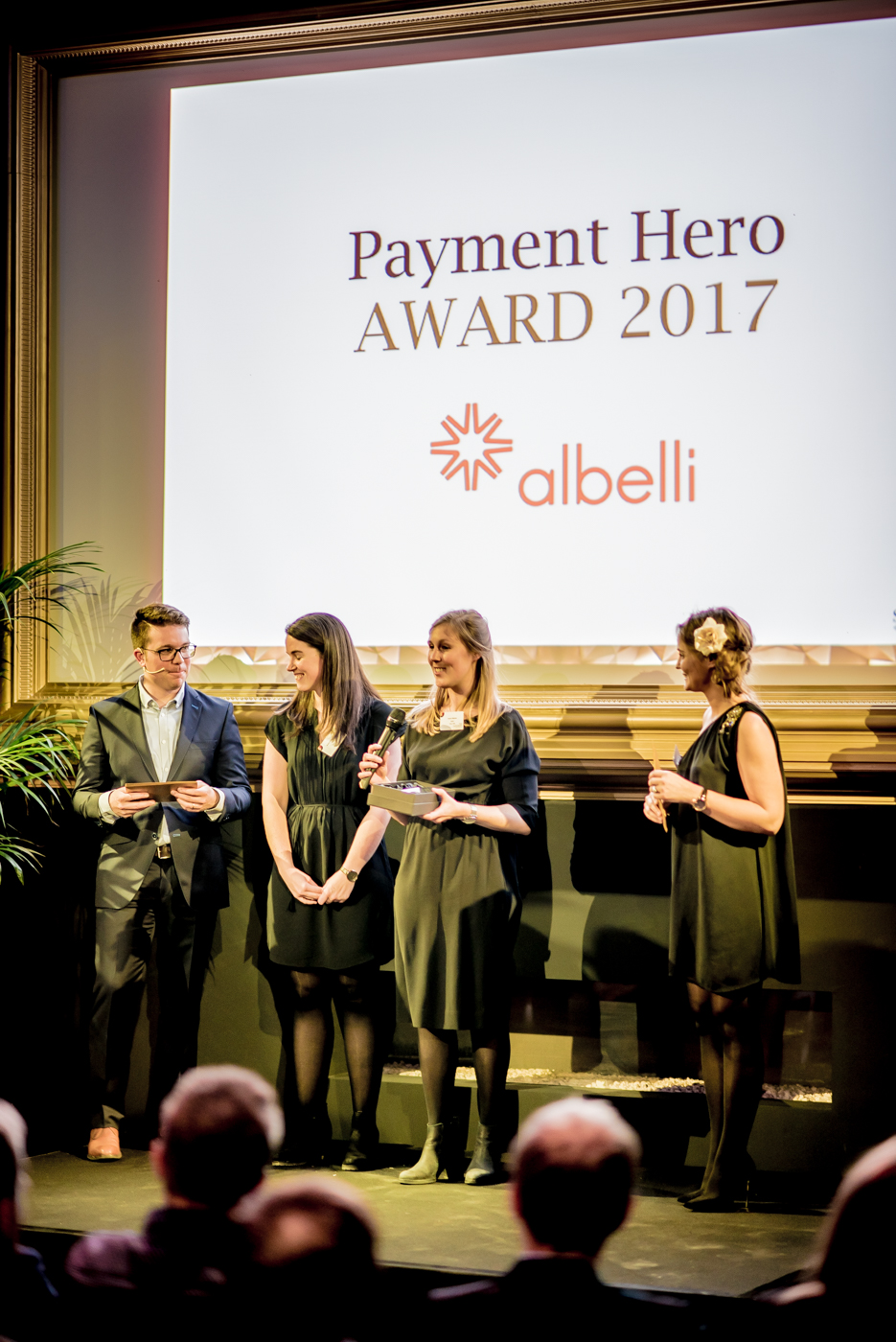 Albelli Winner of the Payment hero Award