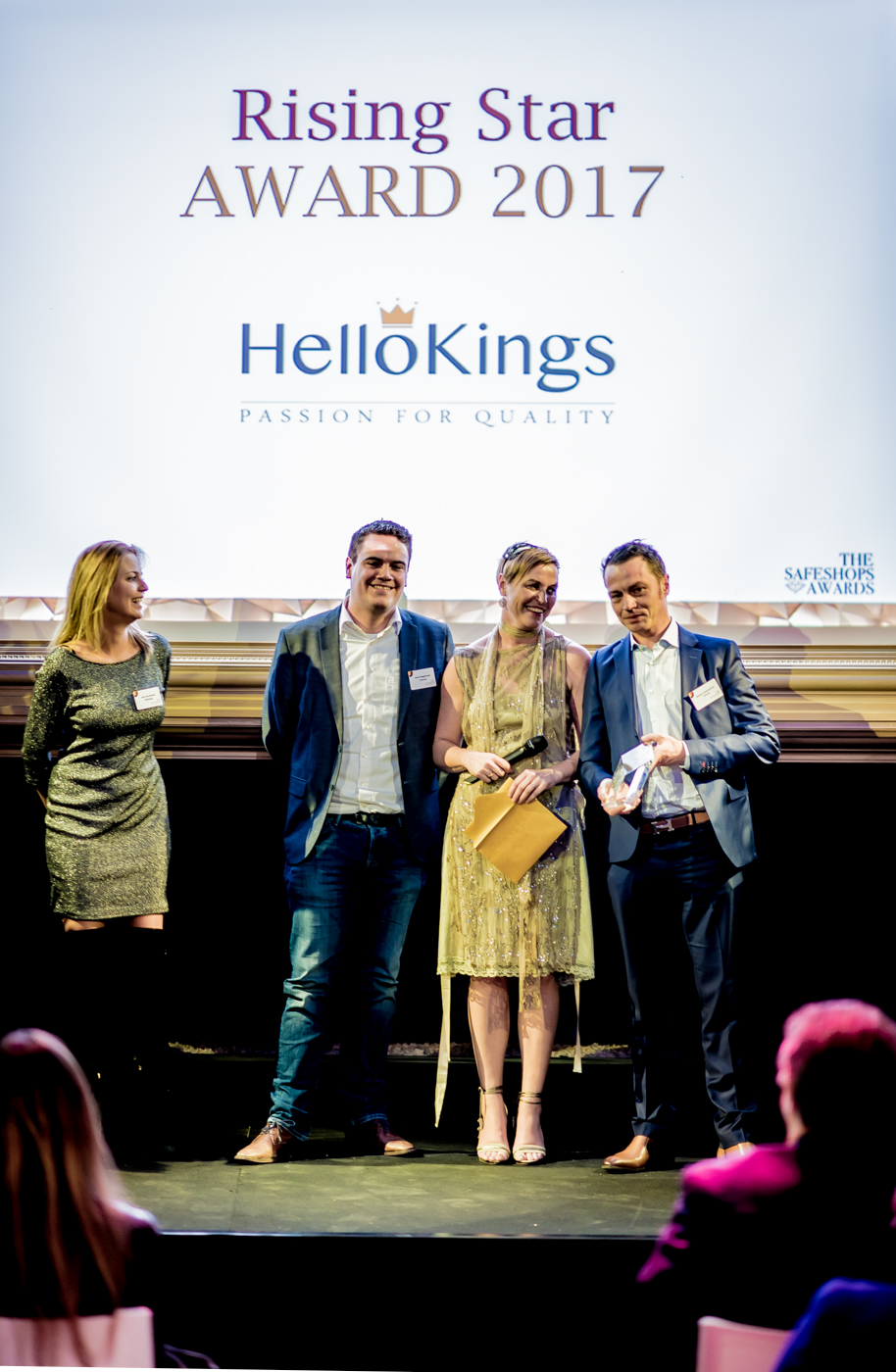 HelloKings winner of the Rising Star Award