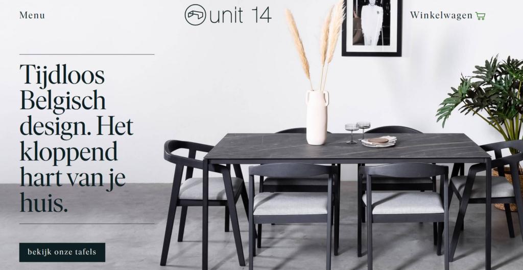 unit 14 screenshot homepage