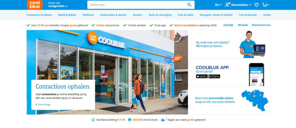 Coolblue webshop