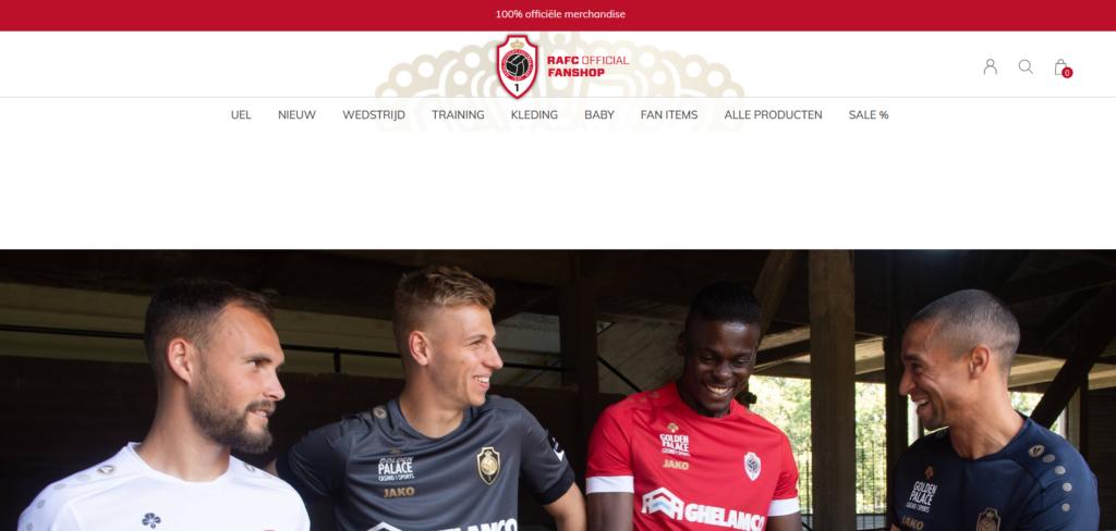 Royal Antwerp Football Club webshop