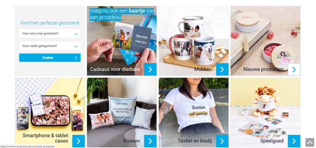 webshop Smartphoto